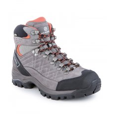 Kailash GTX Wmn, Midgray - Mandarin red